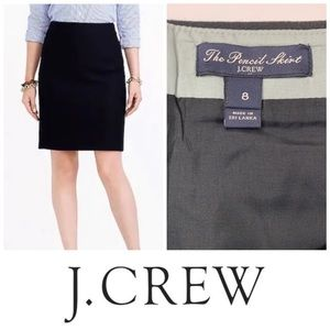 J. Crew Wool The Pencil ✏️ Skirt